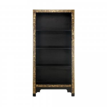 The Nine Schools Oriental Large Ornate Bookcase