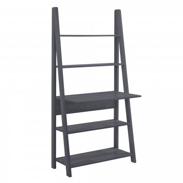 Tiva Black Ladder Desk