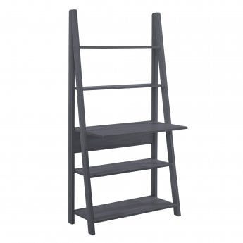 LPD Furniture Tiva Ladder Desk, Black