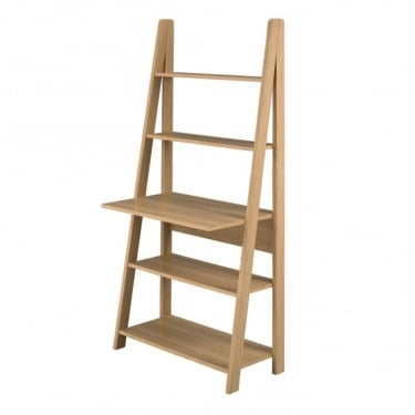 Tiva Ladder Desk, Oak