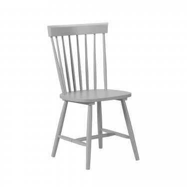 Torino Satin Grey Dining Chair