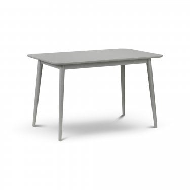 Torino Satin Grey Dining Table