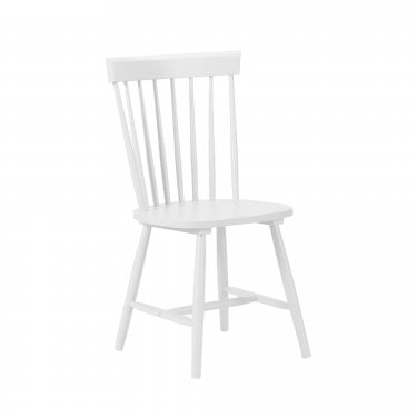 Torino White Lacquered Dining Chair