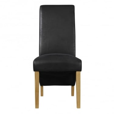 Treviso Black Dining Chair Pair