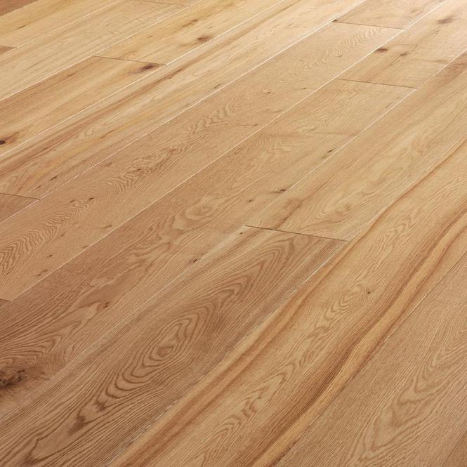 Wood flooring tudor rustic 14 3x125mm brushed oiled for Uniclic laminate flooring