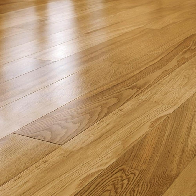 Wood flooring tudor rustic 14 3x125mm lacquered uniclic for Uniclic laminate flooring