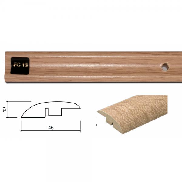 FC13 Colour Match 1m Adapting Profile Door Bar