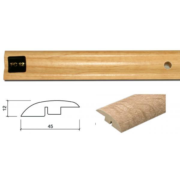 FC12 Colour Match 1m Adapting Profile Door Bar