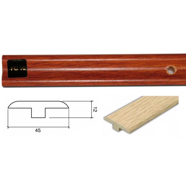 FC10 Colour Match 1m Connecting Profile Door Bar