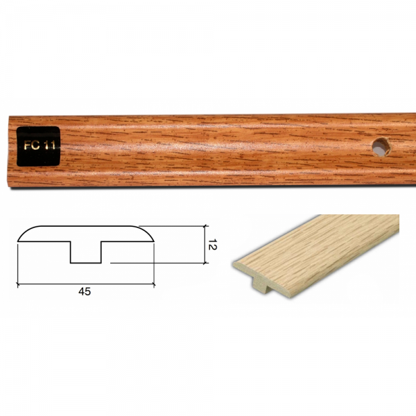 FC11 Colour Match 3m Connecting Profile Door Bar