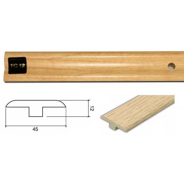 FC12 Colour Match 1m Connecting Profile Door Bar