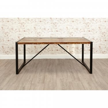 Urban Chic Large Rustic Dining Table