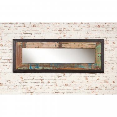 Urban Chic Medium Rustic Wall Mirror
