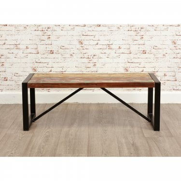 Urban Chic Small Rustic Dining Bench