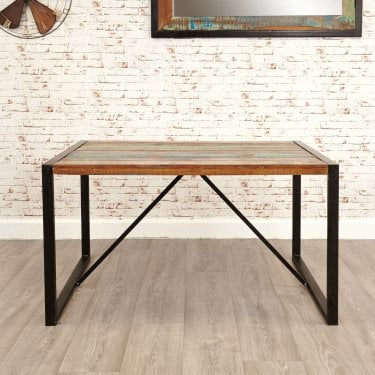 Urban Chic Small Rustic Dining Table