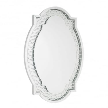 Valentina Mirrored Oval Mirror