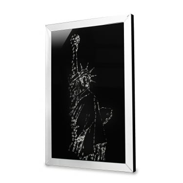 Valentina Mirrored Statue of Liberty Print