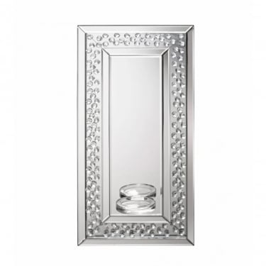 Valentina Wall Sconce Mirror, Silver