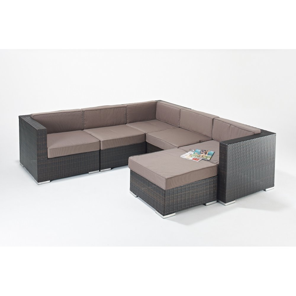 Garden Furniture › Wholesale Garden Furniture Rattan Monaco Sofa Set