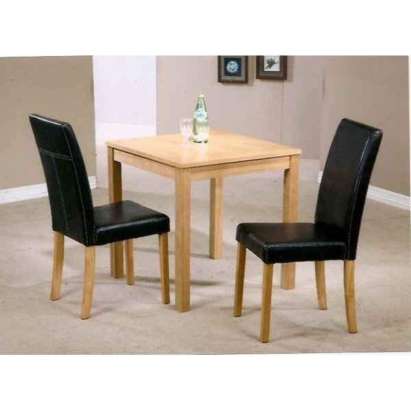 Small Dining Table 2 Dakota Chairs Home Dining Sets Leader