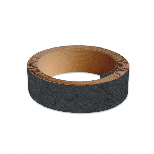 40mm Worktop Colour Match Edging Tape 3m Roll Grey Slate Extra Matt