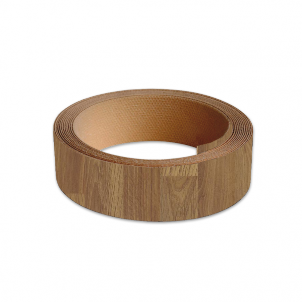 40mm Worktop Colour Match Edging Tape 3m Roll Colmar Oak