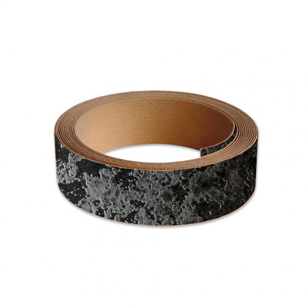 40mm Worktop Colour Match Edging Tape 3m Roll Luna Night High Definition