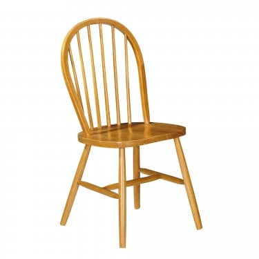 Windsor Dining Chair Set Of 2, Pine