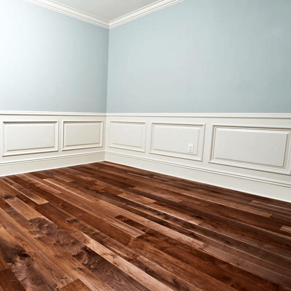 Solid Walnut Flooring: Wood+ Flooring Classic 18x93mm Lacquered Acacia Asian
