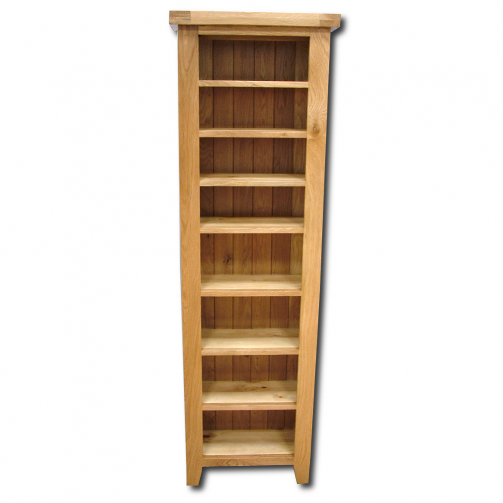 Oak book shelf for Solid wood furniture