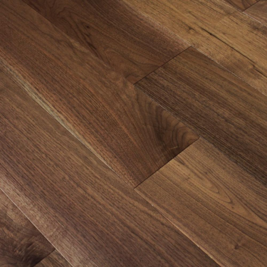 Wood Plus Classic 18x190mm Lacquered Solid American Black Walnut Flooring