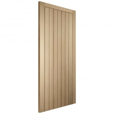 WoodDoor+ Cottage Style Framed Ledged And Braced Unfinished Internal Oak Door
