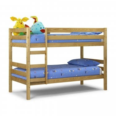 Wyoming Antique Pine Single Bunk Bed