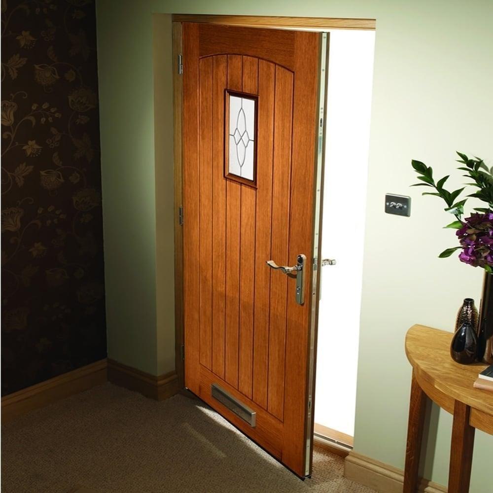 Xl Joinery Cottage Oak External Door Leader Stores