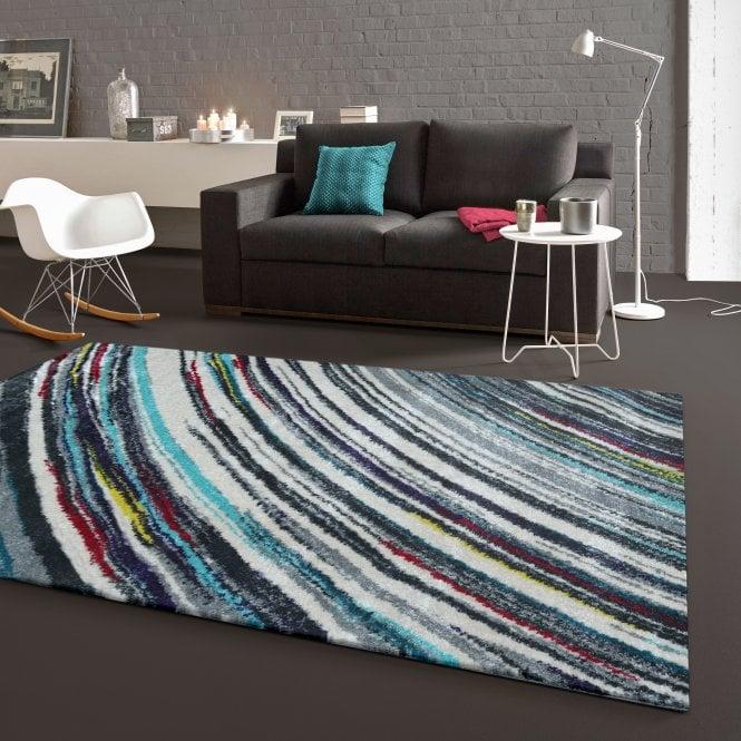Zoom Blue Stripes Rug 170x120cm (25112-053-120170)
