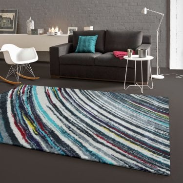 Zoom Blue Stripes Rug 170x120cm (25112-053-120170)
